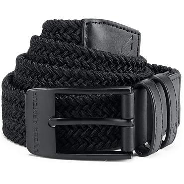 Under Armour Gents Braided Belt 2.0 Black