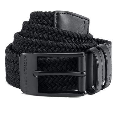 Under Armour Gents Braided Belt 2.0 Grey
