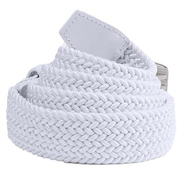 Under Armour Gents Braided Belt 2.0 White