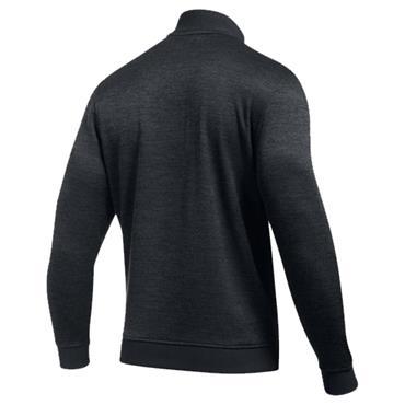 Under Armour Gents Storm SweaterFleece Herringbone 1/4 Zip Sweater Anthracite - Black