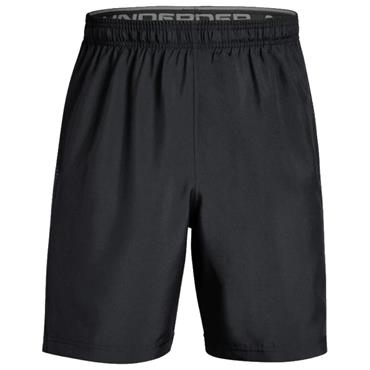 Under Armour Gents Woven Graphic Shorts Black