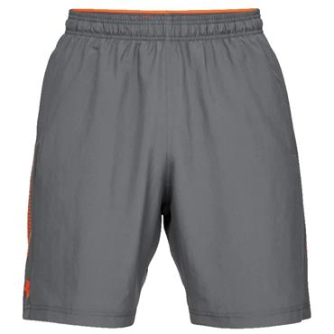 Under Armour Gents Woven Graphic Shorts Grey