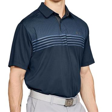 Under Armour Gents CoolSwitch Launch Polo Shirt Navy