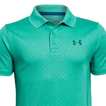 Under Armour Boys Performance Novelty Polo Shirt Green (594)