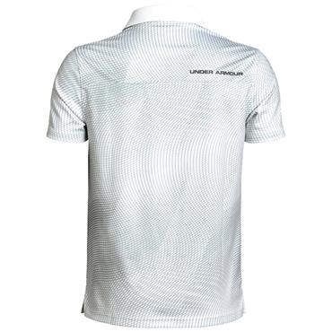 3220d185b ... Under Armour Boys Performance Novelty Polo Shirt White