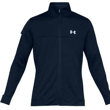 Under Armour Gents Sportstyle Pique Track Jacket Academy