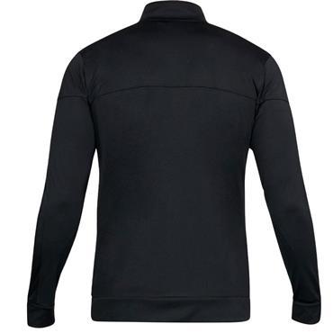 Under Armour Gents Sportstyle Pique Track Jacket Black