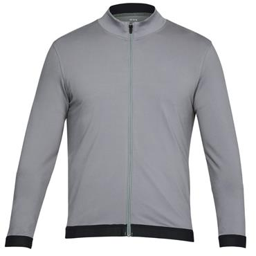 Under Armour Gents Full Zip Playoff Top Gray