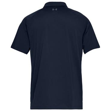 Under Armour Gents Threadborne Calibrate Polo Shirt Navy