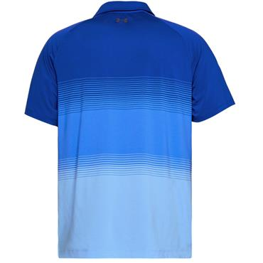Under Armour Gents Gradient Polo Blue (400)