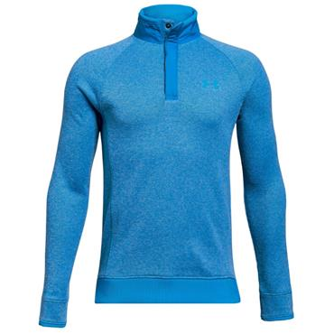 Under Armour Junior - Boys Storm 1/2 Zip Snap Top Blue