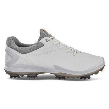 Ecco Gents BIOM G3 Waterproof GORE-TEX® Golf Shoes Shadow White