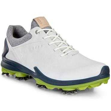 Ecco Gents BIOM G3 Waterproof GORE-TEX® Golf Shoes White