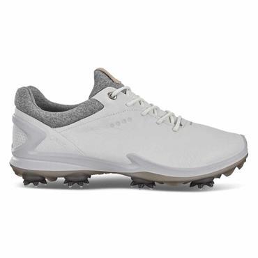 Ecco Gents Biom G3  Waterproof GORE-TEX Golf Shoes Shadow - White
