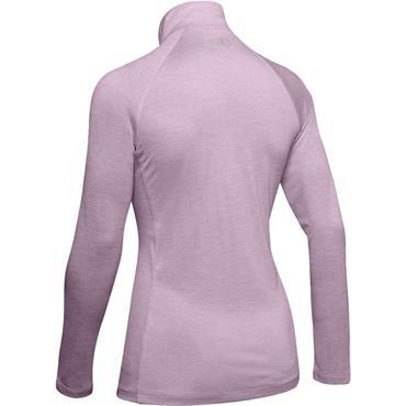Under Armour Ladies Tech™ 1/2 Zip Top Pink