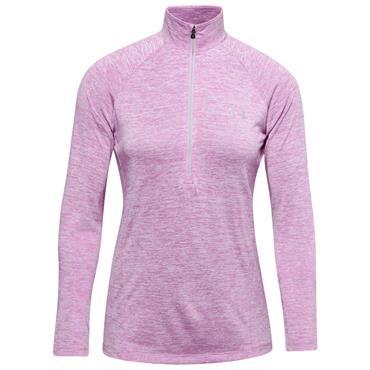 Under Armour Ladies Tech™ ½ Zip Top Purple
