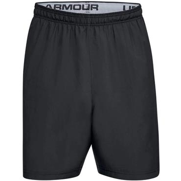 Under Armour Gents Woven Graphic Wordmark Shorts Black