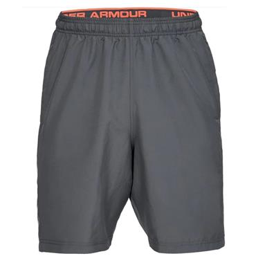 Under Armour Gents Woven Graphic Wordmark Shorts Grey (012)