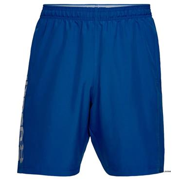 Under Armour Gents Woven Graphic Wordmark Shorts Royal (400)
