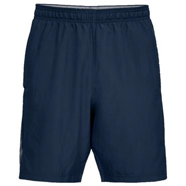 Under Armour Gents Woven Graphic Wordmark Shorts Academy