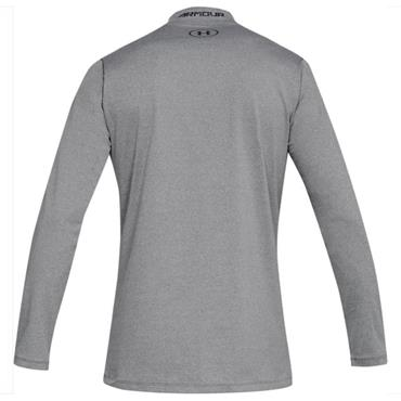 Under Armour Gents ColdGear Armour Fitted Mock Grey