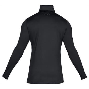 Under Armour Gents ColdGear Fitted Funnel Neck Top Black