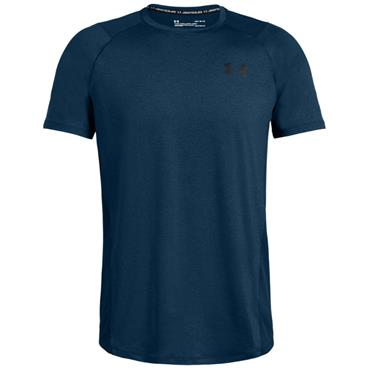 Under Armour Gents MK-1 Short Sleeve T-Shirt Teal