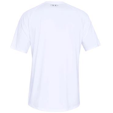 Under Armour Gents Tech 2.0 Short Sleeve Shirt White
