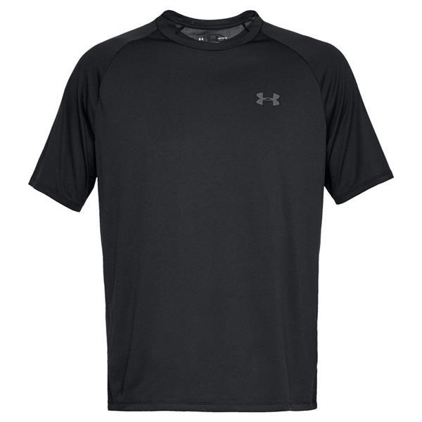 Patatas desagradable Crónico  Under Armour Gents Tech 2.0 Short Sleeve T-Shirt Black   Golf Store