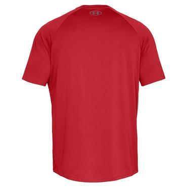 Under Armour Gents Tech 2.0 Short Sleeve T-Shirt Red