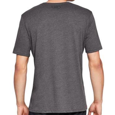 Under Armour Gents Sportstyle Logo T-Shirt Grey 019