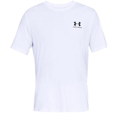 Under Armour Gents Sportstyle Logo T-Shirt White 100