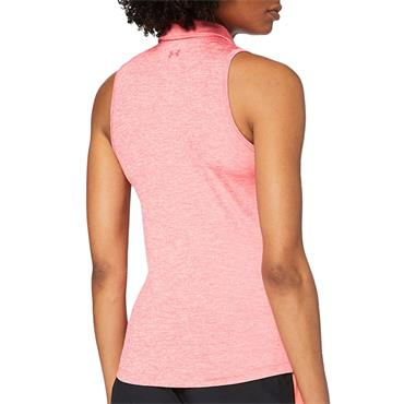 Under Armour Ladies Sleeveless Polo Shirt Perfection 853