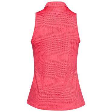 Under Armour Ladies Zinger Sleeveless Novelty Polo Shirt Perfection