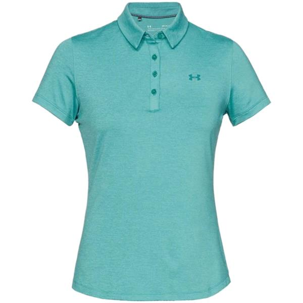 2f71c69a Under Armour Ladies Zinger Short Sleeve Polo Shirt Blue | Golf Store
