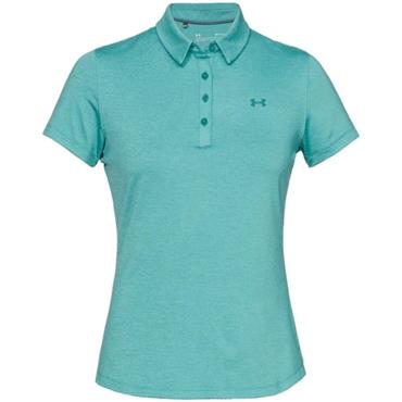 Under Armour Ladies Zinger Short Sleeve Polo Shirt Blue