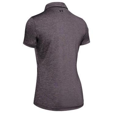 Under Armour Ladies Zinger Short Sleeve Polo Shirt Purple