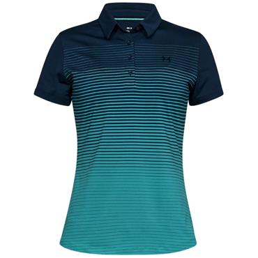Under Armour Ladies Zinger Novelty Polo Shirt Academy
