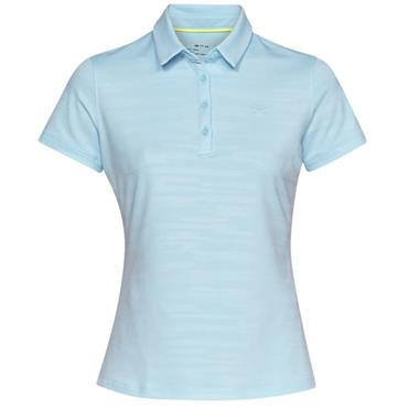 Under Armour Ladies Zinger Novelty Polo Shirt Blue