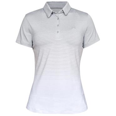 Under Armour Ladies Zinger Novelty Polo Shirt Grey