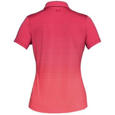 Under Armour Ladies Zinger Novelty Polo Shirt Pink
