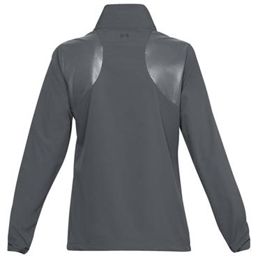 Under Armour Ladies Windstrike Zip Top Grey