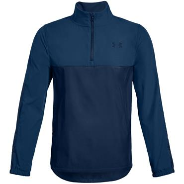 Under Armour Junior - Boys Windstrike 1/2 Zip Top Blue Thunder