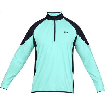 Under Armour Gents Storm Midlayer Warm-Up Top Neo - Turquoise