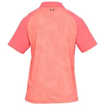 Under Armour Gents Microthread Champion Polo Shirt Red