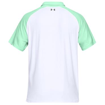 Under Armour Gents Iso-Chill Block Polo Shirt Green
