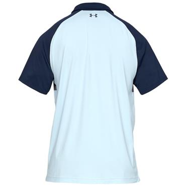 Under Armour Gents Iso-Chill Block Polo Shirt Academy