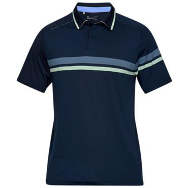 Under Armour Gents Tour Tips Drive Polo Shirt Navy