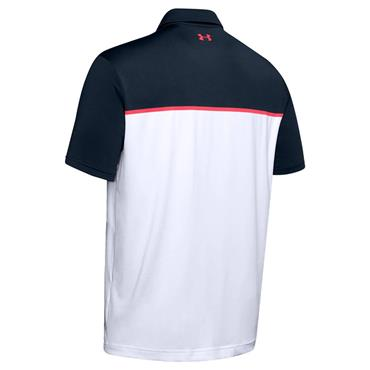 Under Armour Gents Playoff 2.0 Polo Shirt Academy - White 420