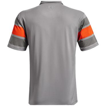 Under Armour Gents Playoff 2.0 Polo Shirt Grey Wolf - Concrete 033